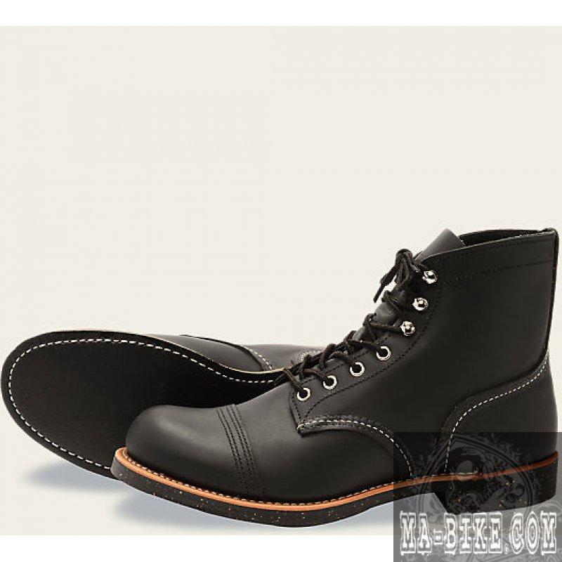 red wing shoes 8114 boots iron ranger herren lederstiefel. Black Bedroom Furniture Sets. Home Design Ideas