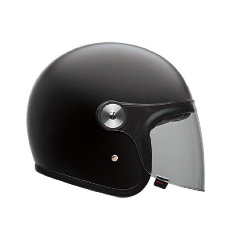 bell riot jethelm mattschwarz motorradhelm ece 206 10. Black Bedroom Furniture Sets. Home Design Ideas