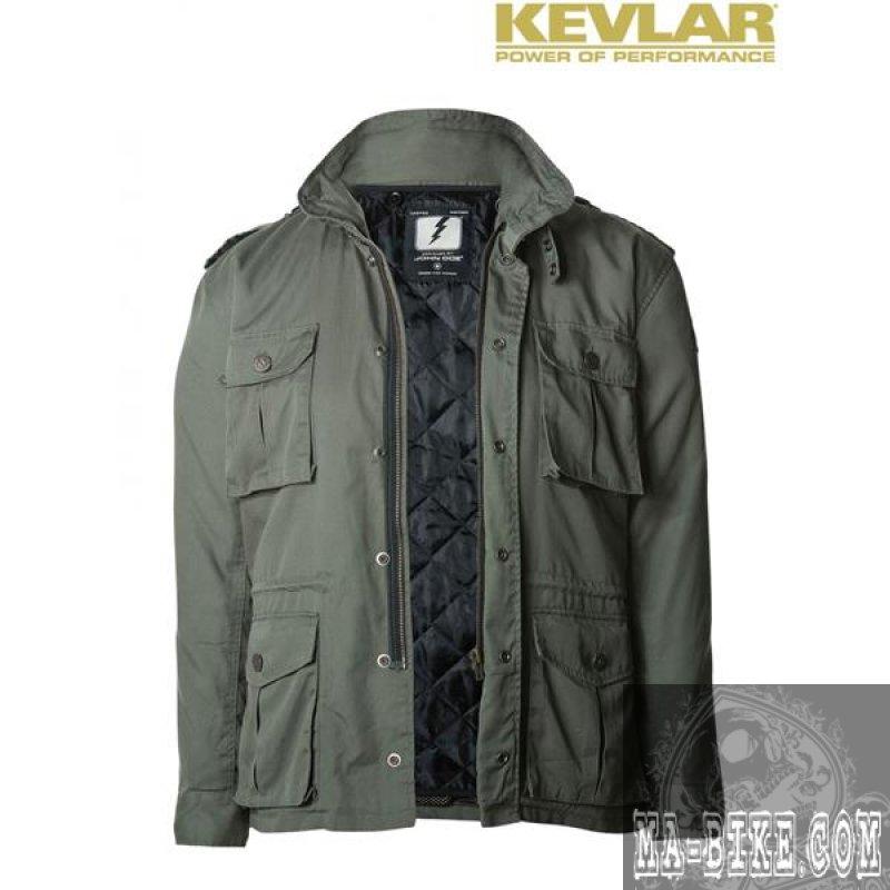 john doe kamikaze field jacket m 65 herren motorradjacke. Black Bedroom Furniture Sets. Home Design Ideas