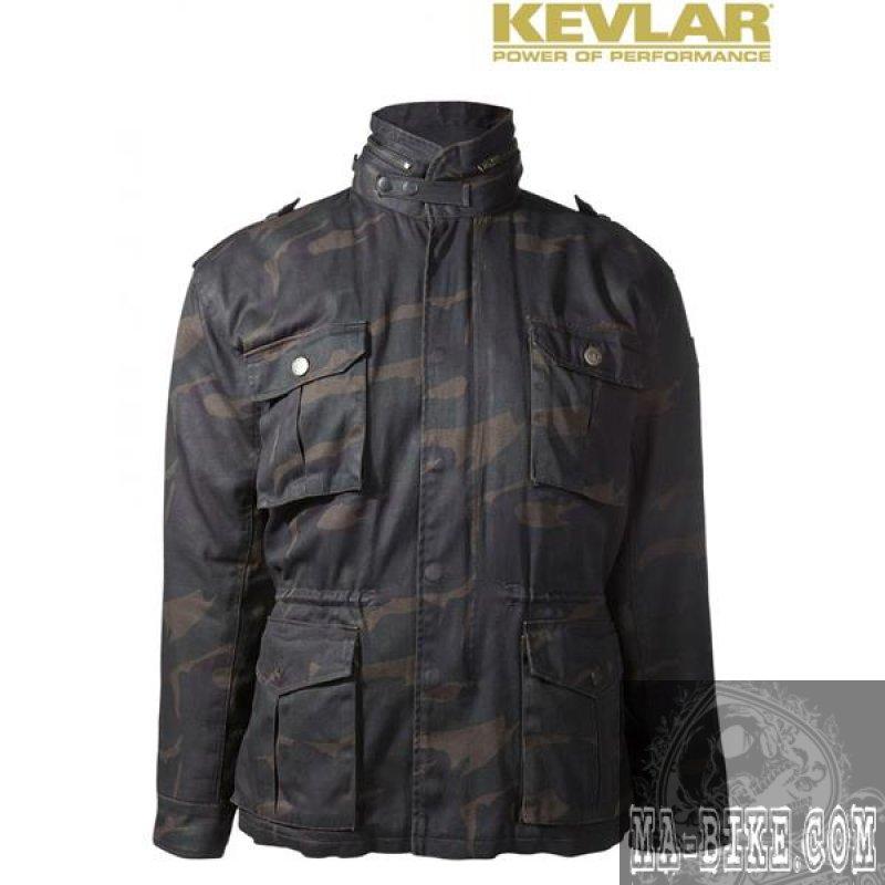 john doe kamikaze field jacket m 65 herren motorradjacke camouflage. Black Bedroom Furniture Sets. Home Design Ideas
