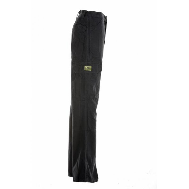 draggin damen cargohose mit kevlar schwarz 99 00. Black Bedroom Furniture Sets. Home Design Ideas
