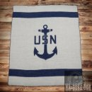 Pike Brothers 1969 USN Blanket Navy Decke