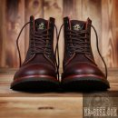 Pike Brothers 1938 Low Quarters Herren Stiefel Cognac Oiled