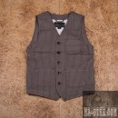 L Pike Brothers 1937 Roamer Vest Wabash Brown