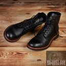 Pike Brothers 1938 Low Quarters Herren Stiefel Black