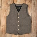 Pike Brothers 1937 Roamer Vest Grey Wool