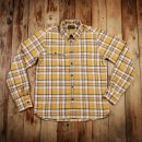 Pike Brothers 1937 Roamer Shirt Yellow Flanell Gelb