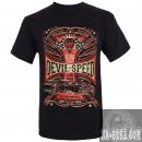 King Kerosin Regular Shirt Biker T-Shirt Devil Speed