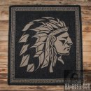 Pike Brothers 1969 Chief Blanket Faded Black Wolldecke Schwarz