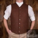 Pike Brothers 1923 Buccaneer Vest Weste Rust Brown Wool