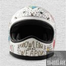 DMD Racer Tribal Retro Cross Helm ECE 22.05
