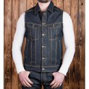 Pike Brothers 1963 Roamer Vest Jeansweste Metal 11OZ