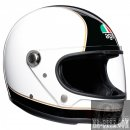 AGV X3000 Super Black White Integralhelm ECE 22.05...
