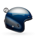 Bell Custom 500 Carbon Jager Candy Blue Jethelm ECE 22.05...