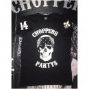 CnP Herren T-Shirt Schwarz Choppers n Party