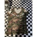 CnP Damen T-Shirt Camouflage Choppers n Party