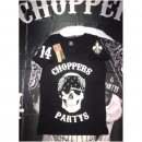 CnP Damen T-Shirt Schwarz Choppers n Party