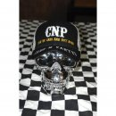 CnP Baseball Kappe Weiss Schwarz Choppers n Partys