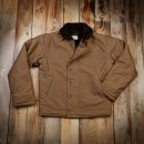 Pike Brothers 1944 N1 Deck Jacket Waxed Khaki Wasserdicht