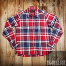 Pike Brothers 1937 Roamer Shirt Red Blue Flanel Hemd Rot Blau