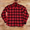 2XL Pike Brothers 1937 Roamer Shirt Red Check