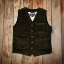 Pike Brothers 1937 Roamer Vest Heavy Cord Brown