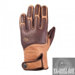 Ride and Sons The Lord Leder Handschuhe Braun