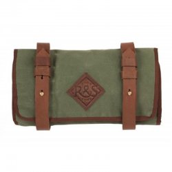 Ride and Sons The Tool Roll Waxed Tasche Oliv
