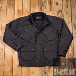 Pike Brothers 1966 Explorer Jacket waxed navy