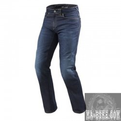 REV´IT Jeans Philly 2 Herren Denim Motorradjeans Dunkelblau