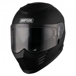 Simpson Integral Helm Matt Black mit ECE 22.05
