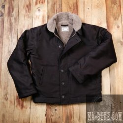 Pike Brothers 1944 N1 Deck Jacket Faded Black