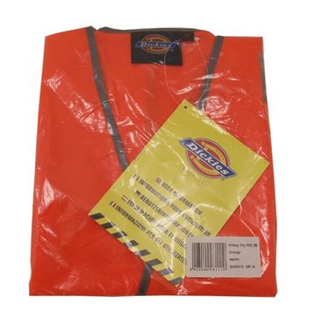 Dickies Warnweste neon orange Safety Vest