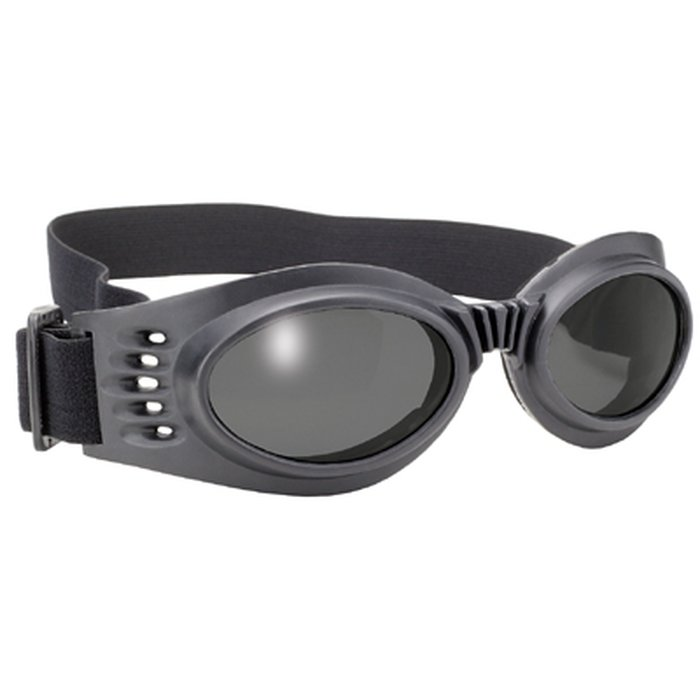 Pacific Coast Value Line Marauder Bikerbrille Schwarz Graue Gläser