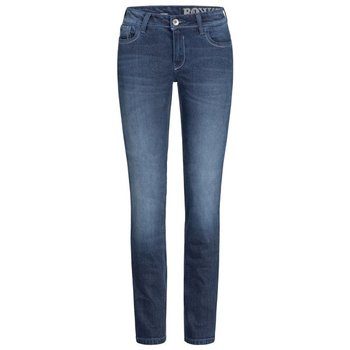 Rokkertech Pant Stretch Lady Denim Damen Motorradjeans Blau