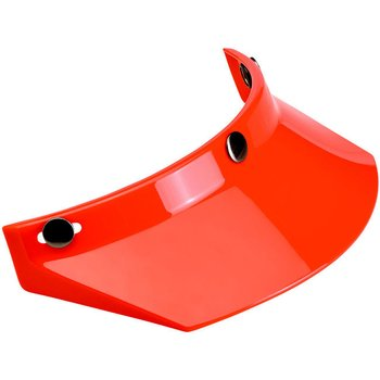 Biltwell Moto 3 Snap Visor Orange