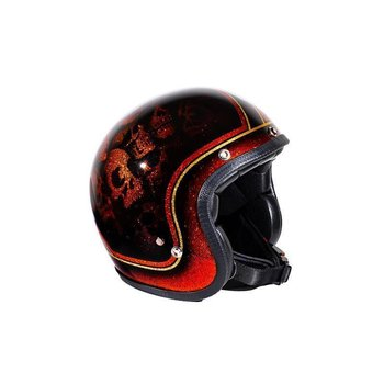 70´s Seventies Superflakes Skulls & Flash Helmet ECE 22.05