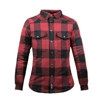 John Doe Women Motoshirt Red with XTM-Fiber