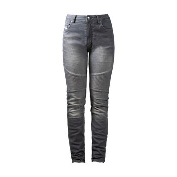 John Doe Betty XTM High Waist Light Grey Lady Motorcycle...