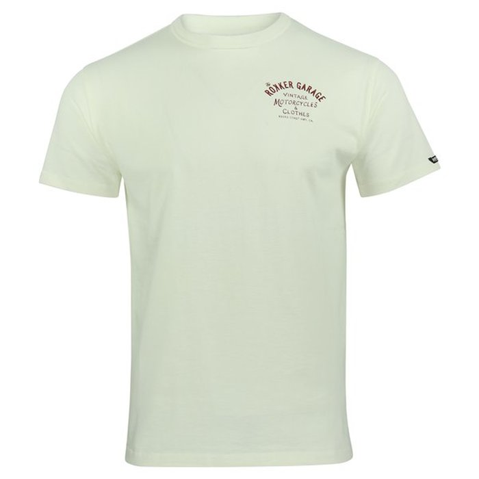L Rokker Garage Dirt White Herren T-Shirt