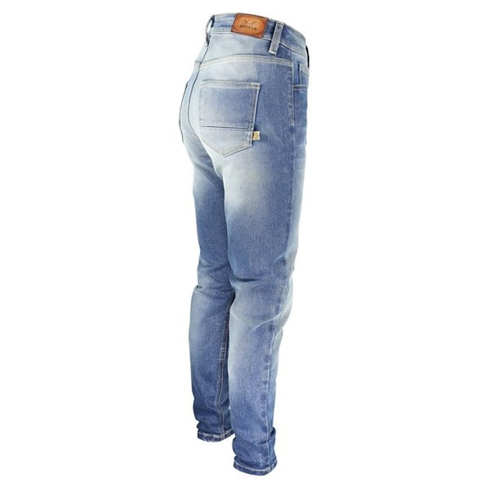 W27 L32 Rokkertech High Waist Slim Lady Denim Damen Motorradjeans