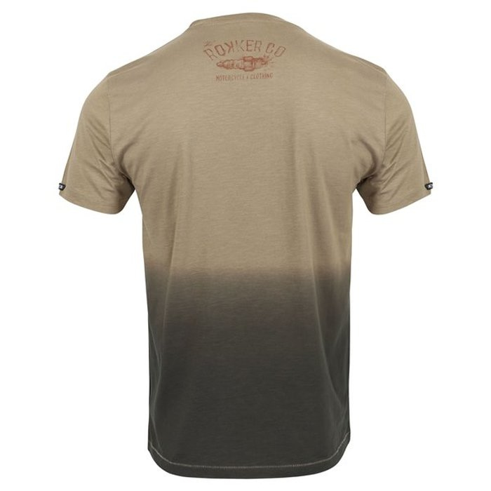 3XL Rokker Wings Brown Herren T-Shirt