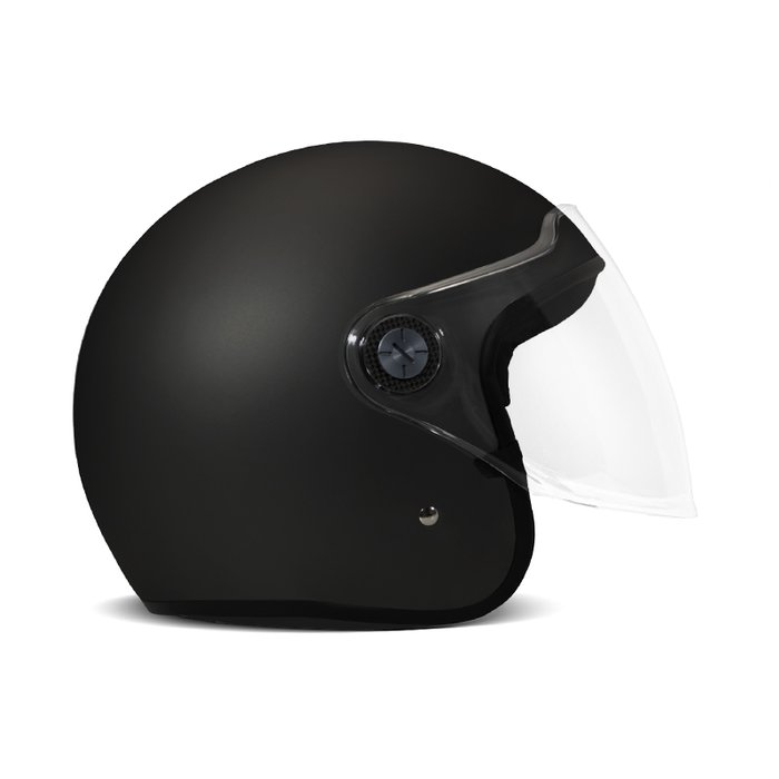 DMD 2019 Project One Demi Jet Helmet ECE 22.05 Mat Black