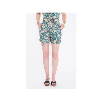 Queen Kerosin Damen Shorts Tropical