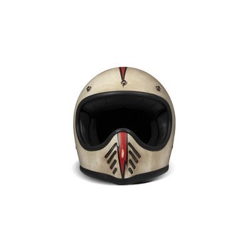 DMD Seventy Five Arrow Cream Carbon Retro Helm ECE 22.05