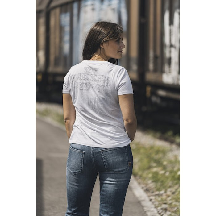 XS Rokker Lady Wings Classic White T-Shirt