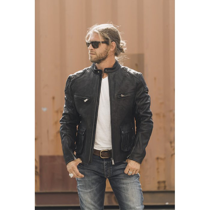 L Rokker Goodwood Leather Jacket